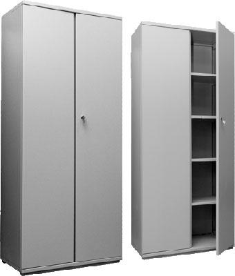 Шкаф металлический двухстворчатый